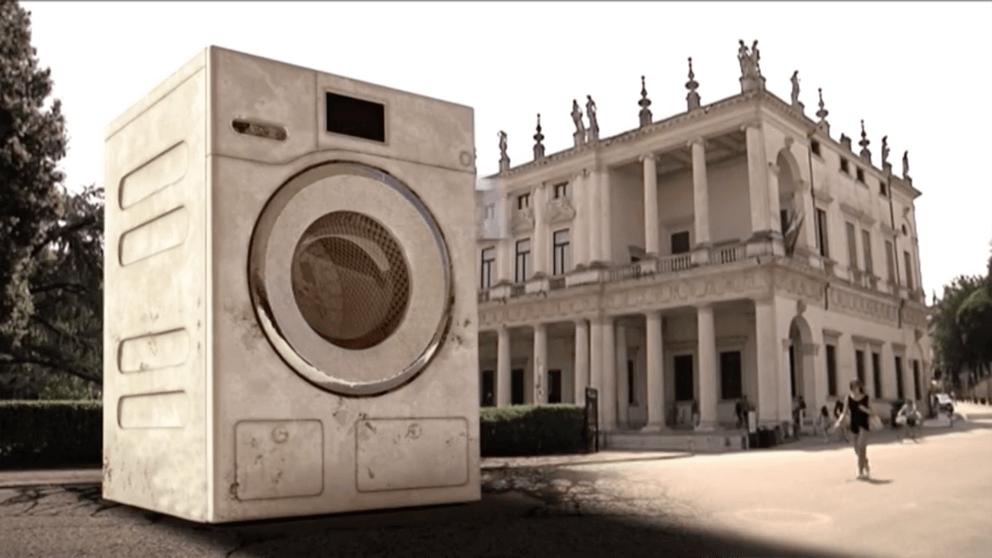 Immagine della campagna di sensibilizzazione contro abbandono dei rifiuti a Vicenza